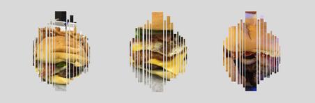 Three Burger Design